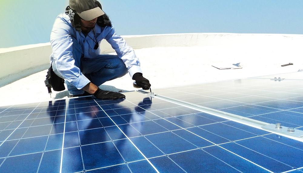 Montage Varianten für Photovoltaik Anlagen